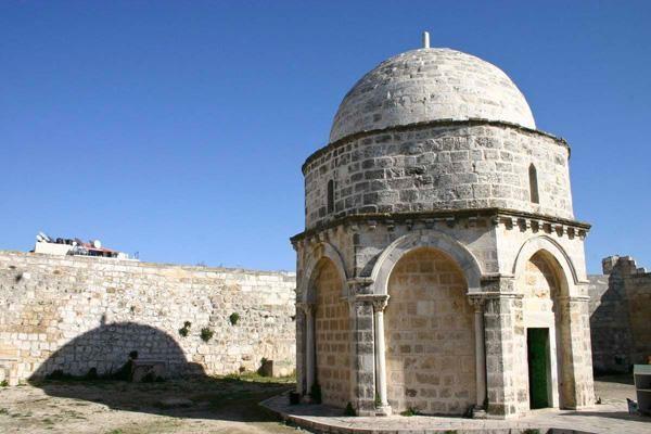L'actuelle chapelle de l'Ascension date de l'époque croisée