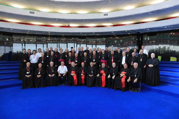 A Jérusalem, l'assemblée du CCEE rencontre l'Eglise locale
