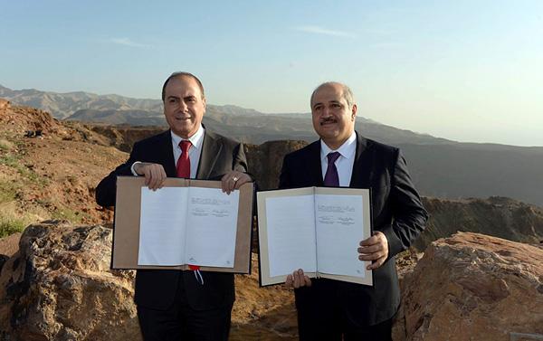Accord historique entre Israël et la Jordanie pour sauver la Mer morte