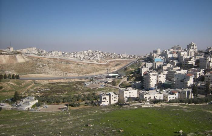 Aperçu sur la zone verte de Jérusalem-Est choisie pour la création du Parc national juif.