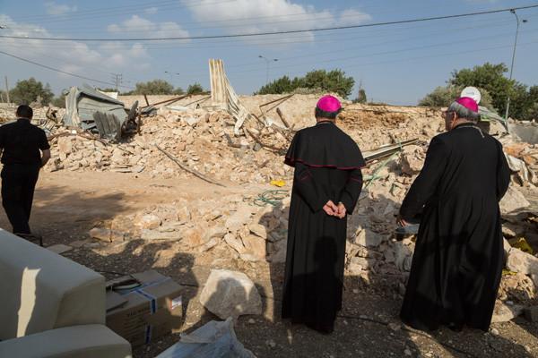 Le patriarche Twal condamne la destruction par Israël d'une maison du Patriarcat