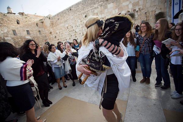 Le mur qui sépare les Juifs