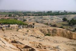 A Jéricho, des vandales et la négligence menacent les vestiges d'Hérode