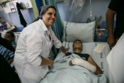 La solidarité s'organise pour venir en aide aux blessés de Gaza soignés à Jérusalem