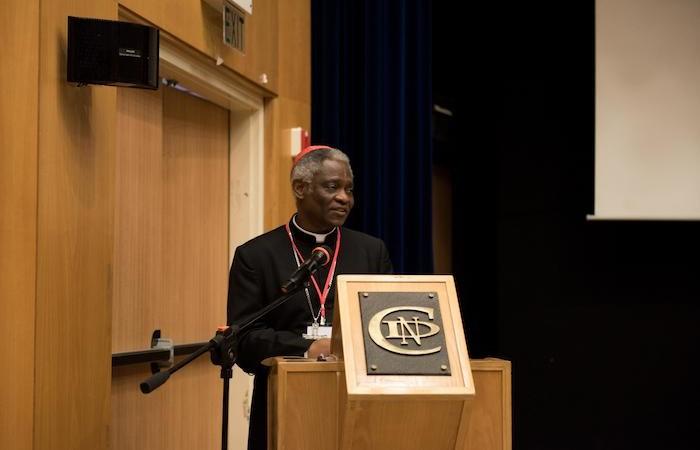 Le cardinal Turkson parle des défis qui entravent la perspective d'une écologie intégrale.