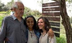 Une Juste érythréene honorée à  Neve Shalom