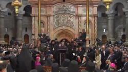 Joie oecuménique pour la fin des travaux au Saint-Sépulcre