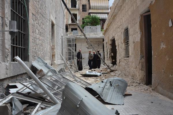 Appel pour la ville d'Alep de l'Ordre franciscain
