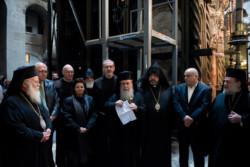 Le tombeau du Christ bientôt restauré annonce la Custodie