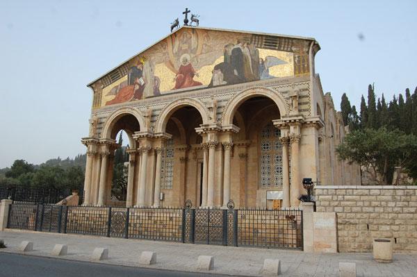 Basilique de Gethsémani, connu aussi sous le nom Basilique des Nations