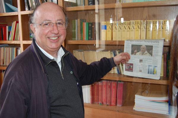 Frère Enrique attend déjà la visite du pape François
