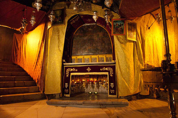 Incendie accidentel mais sans gravité à la grotte de la Nativité