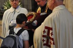 La Sainte Couronne sauvée des flammes de ND de Paris