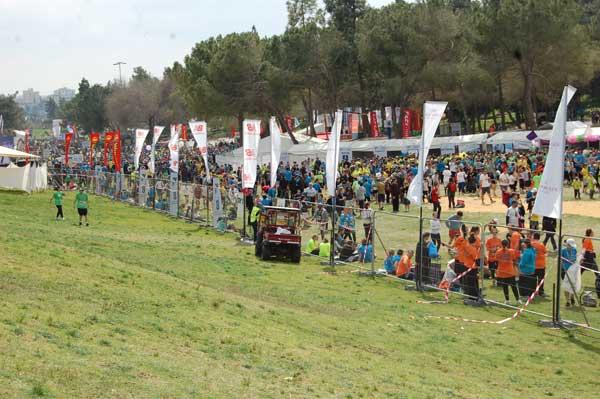 Festival du sport et des loisirs dans le parc adjacent à la Knesset