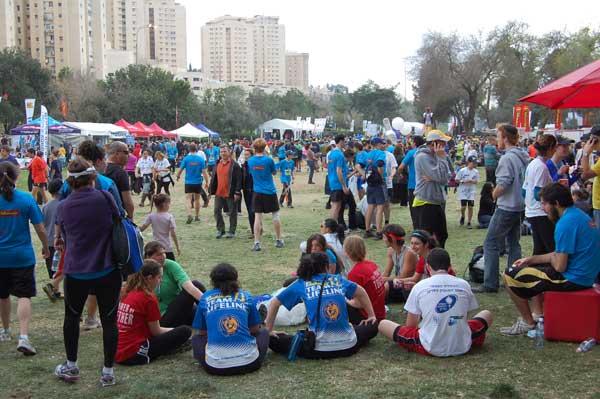 Festival des sports après la course