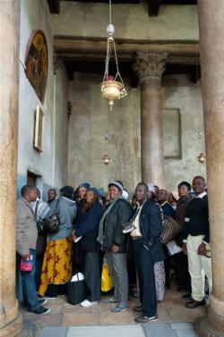De plus en plus de pèlerins en provenance des pays en développement