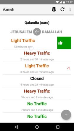 Cisjordanie : l'attente aux points de contrôle israéliens dorénavant sur smartphone