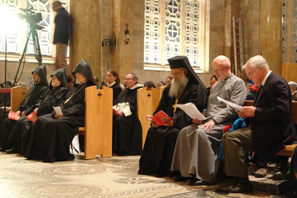 Prière oecuménique à Jérusalem: «Dans la persécution plus unis»