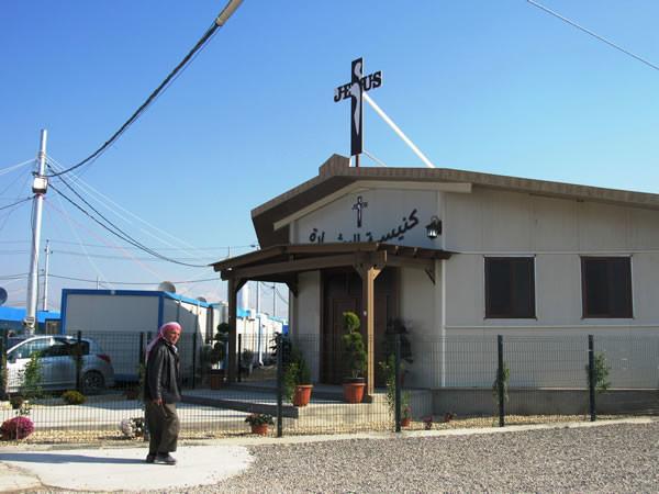La petite église du camp.
