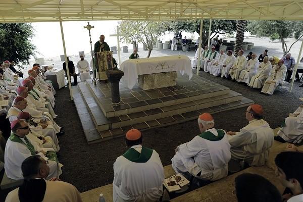 Le Conseil des évêques d'Europe se réunit en Terre Sainte
