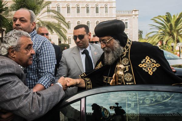 Le pape copte Tawadros à Jérusalem par devoir religieux
