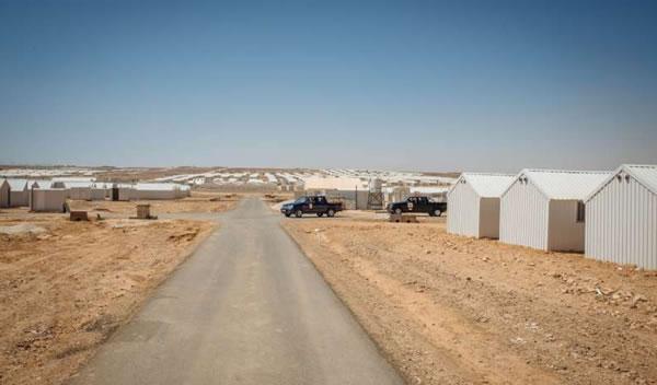 Un nouveau camp de réfugiés vient d'ouvrir à Azraq, en Jordanie, pour 130 000 personnes