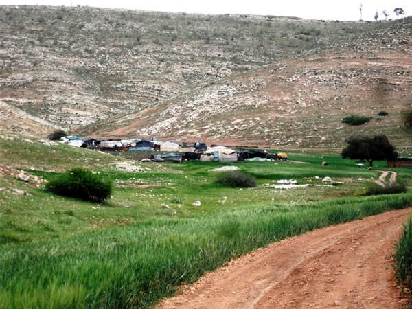 L'école de boue des bédouins de Samra