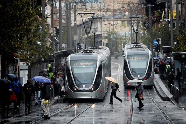 Il pleut enfin sur Jérusalem !