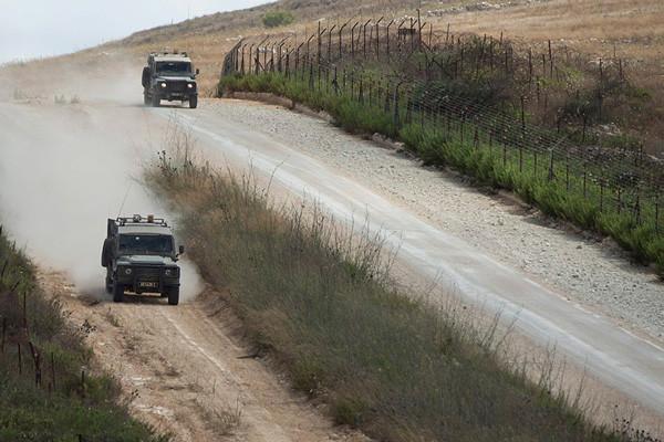 Tensions sur le plateau du Golan