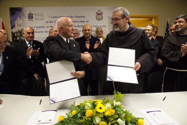 Un nouvel élan pour l'Université de Bethléem grâce à la Custodie de Terre Sainte