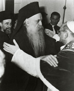 Le Pape François et Bartholomée Ier ensemble à Jérusalem en 2014?