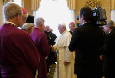 2017 : une invitation au pape François pour célébrer l'anniversaire de la Réforme
