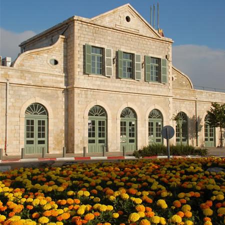 la station ferroviaire de Jérusalem récemment restaurée (© G. Sandionigi)