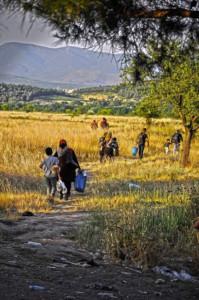 Sur la route des Balkans : récits de Eidomeni à la frontière gréco-macédonienne