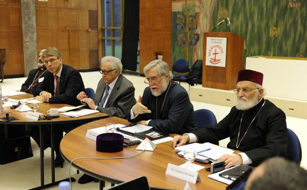 Avant Genève II, le Conseil oecuménique des Eglises réitère son appel pour un cessez le feu immédiat en Syrie