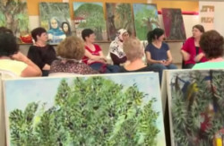 L'Art au service de la paix: «Les femmes de l'olivier»