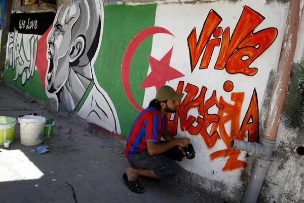 Narghileh et football: le cocktail des soirées palestiniennes