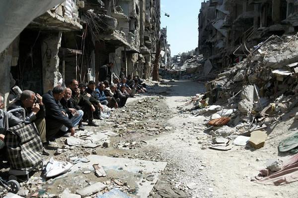 Yarmouk à genoux