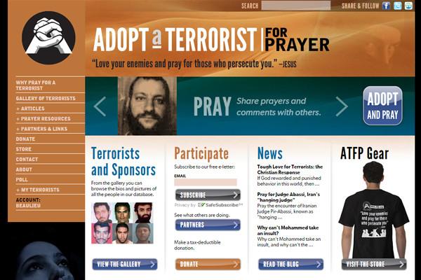 Un site chrétien propose d'»adopter un terroriste par la prière»