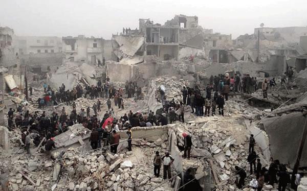 Alep ensanglantée, le témoignage des Franciscains en Syrie
