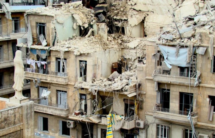 Une semaine tragique pour Alep