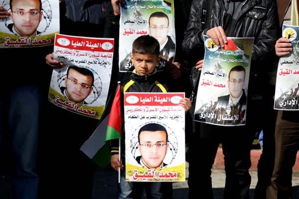 70e jour de grève de la faim pour un journaliste palestinien détenu