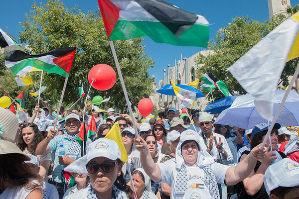 Les chrétiens palestiniens se mobilisent pour la reconnaissance de leur Etat