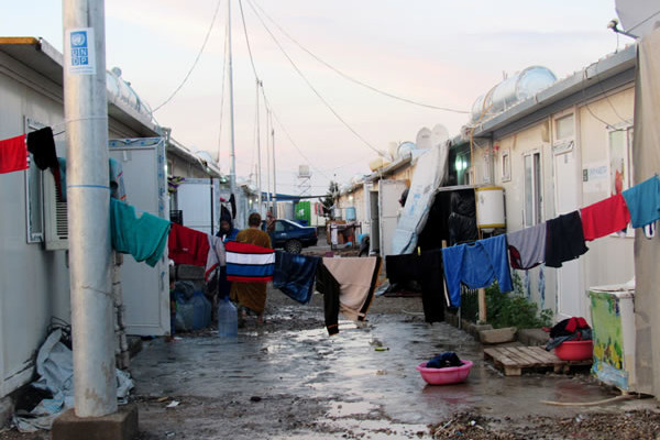 Populations déplacées dans un Irak en miettes