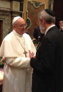 Burigana : François à la synagogue de Rome vient réaffirmer une amitié
