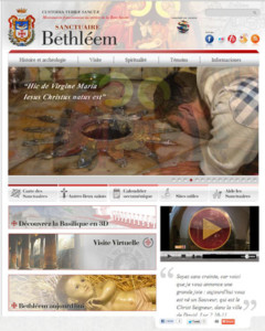 Un nouveau site internet pour le sanctuaire de la Nativité de Bethléem!