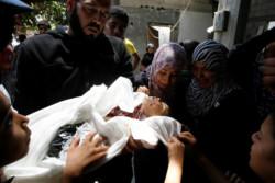 L'UNICEF compte le nombre d'enfants gazaouis tombés sous les bombes israéliennes