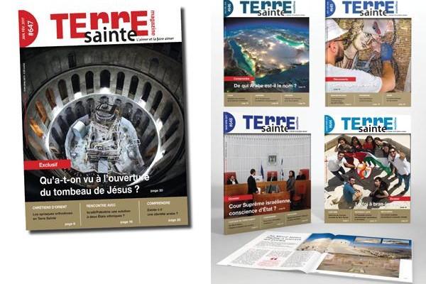 Terre Sainte Magazine a ouvert une boutique en ligne