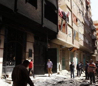 Au Caire, des morts et des blessés chez les Coptes et les Musulmans, à nouveau à couteaux tirés