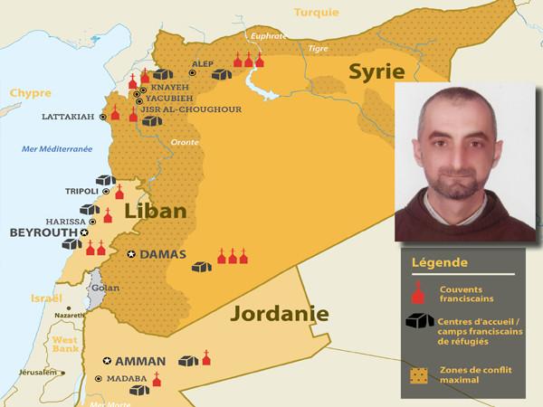 Un frère de la Custodie de nouveau aux mains de bandes armées en Syrie